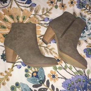 Never worn just fab booties!